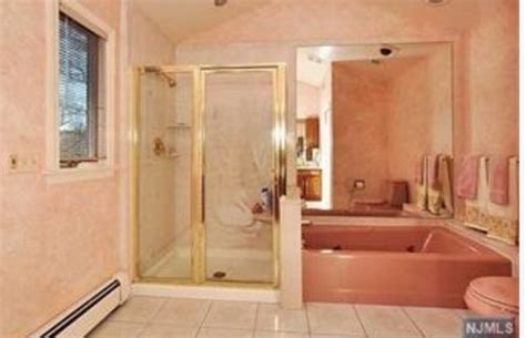 how to neutralize a pink bathroom