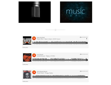 muse responsive templates band one page template responsive muse templates widgets