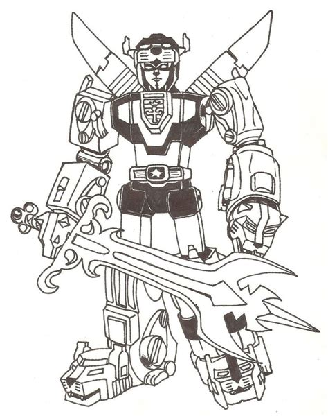 voltron lions coloring pages google search geeky