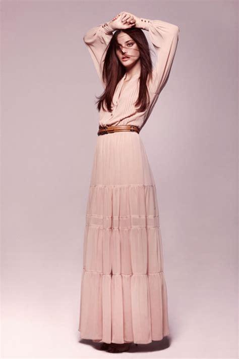 Robe Longue Pour Mariage Boheme - robe longues manche longue mango la mode des robes de