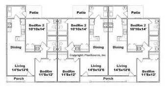 6 unit apartment building plans apartment plan j891 6 6 units