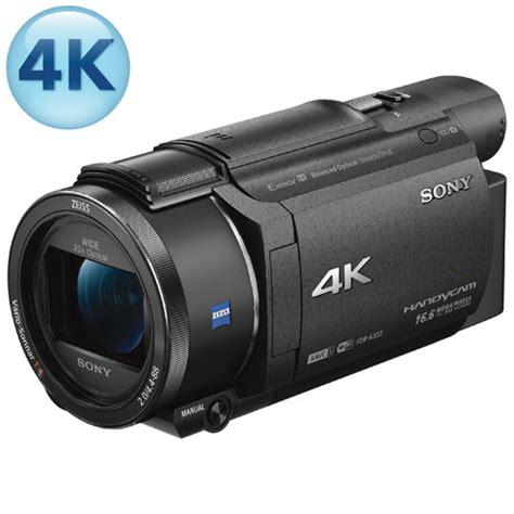 Memory Handycam Sony Handycam Ax53 4k Flash Memory Camcorder Camcorders