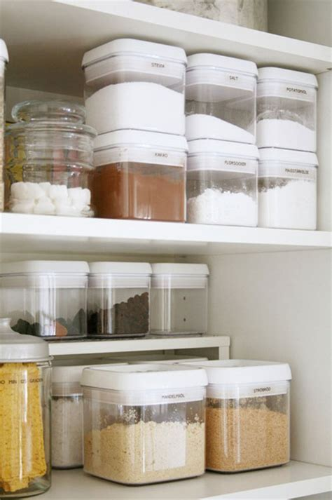 Organizing Containers For Pantry by Pantry Organization Ideas Part 1