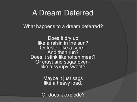 Deferred Essay by Deferred Analysis