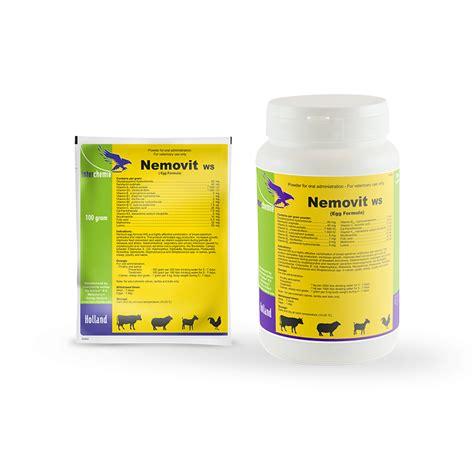 Vetsin 100 Gram nemovit ws antibiotics vitamins water soluble powder