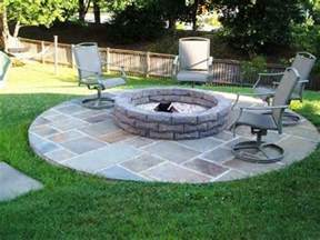 Simple Backyard Fire Pit Ideas » Home Design