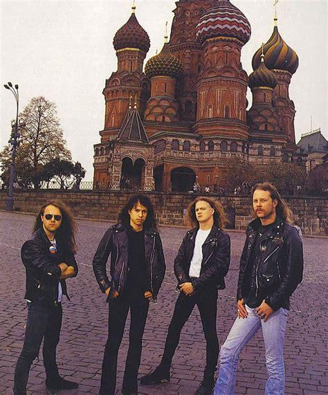 metallica russia metallica visits moscow music pinterest