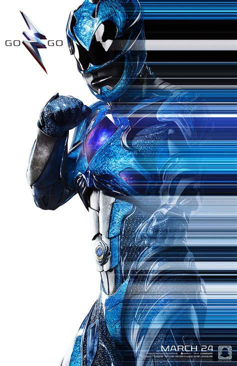 Poster Blue Ranger Hiasan Dinding blue ranger suit poster 2017 morphin legacy