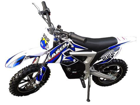 mini motocross bike mini moto cross dirt bike bleu motoquadelec