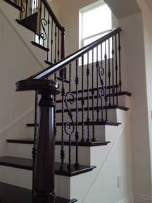 Wrought Iron Banister Spindles by Best 25 Wrought Iron Stairs Ideas On Wrought