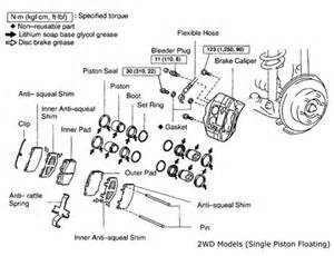 Toyota Hilux Brake System Diagram Tech Feature Brake On 1995 2004 Toyota Tacoma