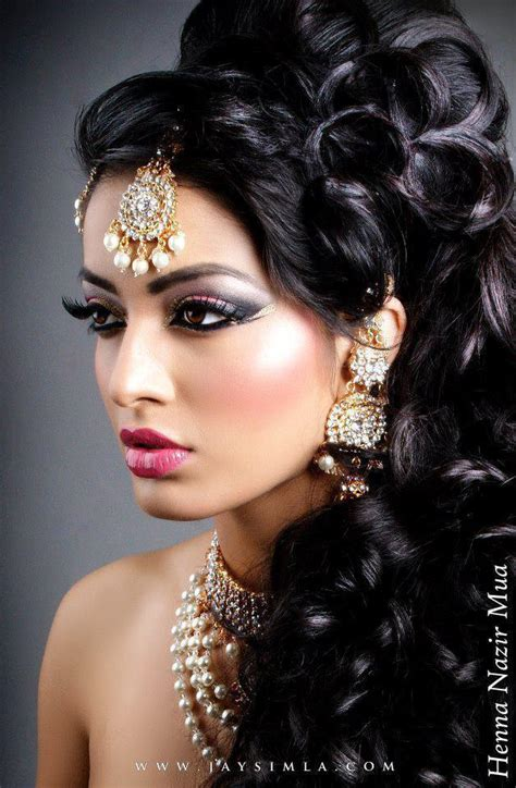 middle eastern hairstyles indian style makeup and hairstyle looks for brides