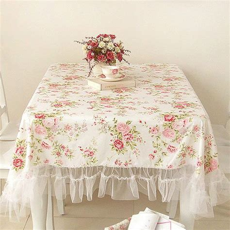 images  shabby chic tablecloths  pinterest shabby ruffled tablecloth  tablecloths