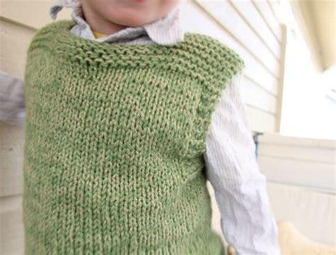 knitting pattern vest child plain vest childs knitting pinterest