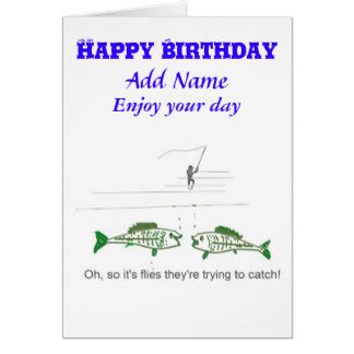 Fishing Birthday Card Template by Fishing Cards Photo Card Templates Invitations More