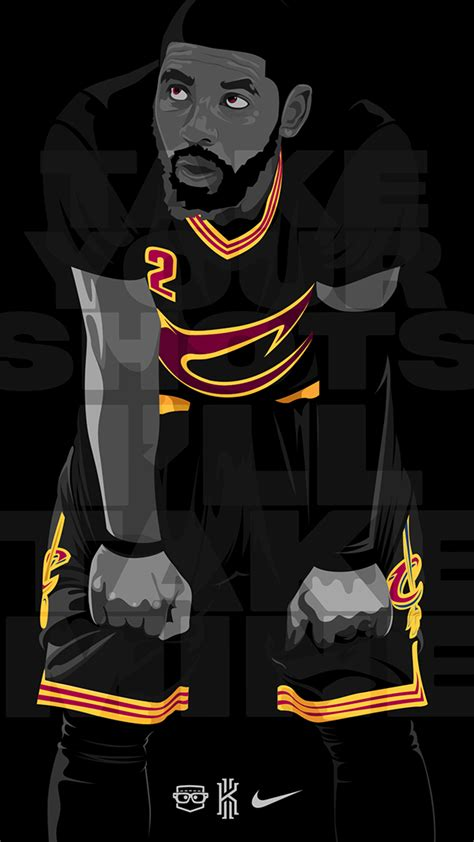 kyrie irving hd wallpaper iphone 6 kyrie irving mobile wallpaper on behance