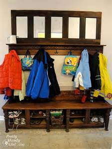 Mudroom Coat Rack Bench by The Best 30 Diy Entryway Bench Projects Cute Diy Projects