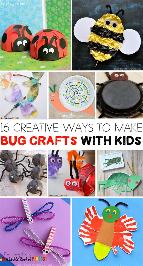 16 creative ways to use 16 creative ways to make bug crafts with