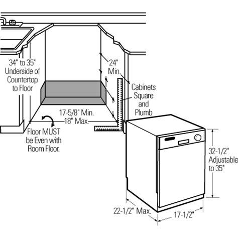 us standard sizes for dishwashers dishwashers standard dishwasher dimensions