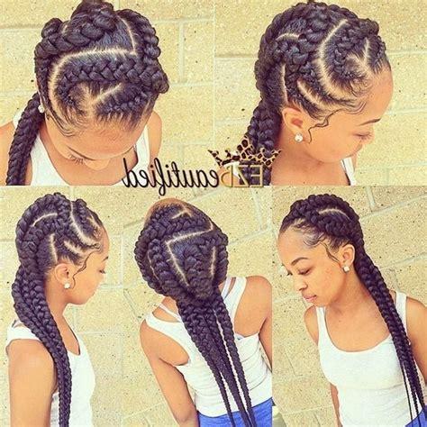 straight back braids hairstyles jumbo cornrow braids hairstyles idea