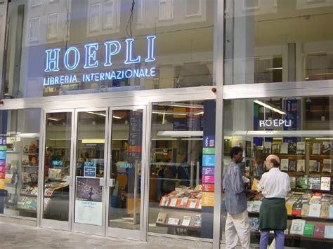 libreria hoepli a hoepli a libreria itinerari turismo arte it