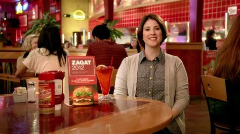 commercial actress red robin red robin tv commercial zagat 1 burger ispot tv