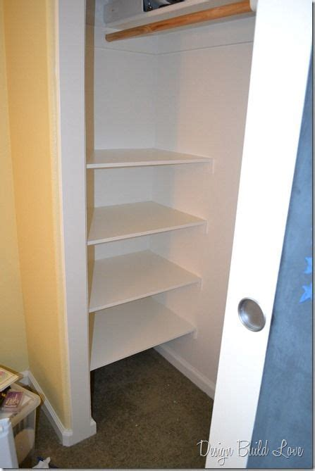 cheap closet shelving 7 simple steps to create cheap easy built in closet storage storage create and easy