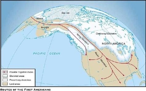 american migration from asia map what caused the navajo migration from canada to deserts of