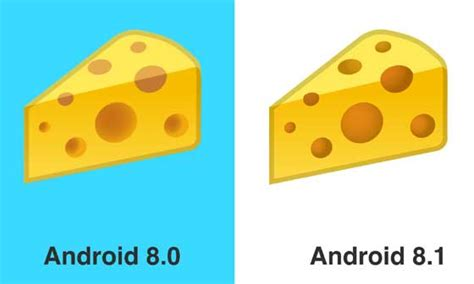 cheese emoji android 8 1 修正了漢堡包 emoji android apk