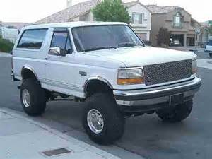 96 Ford Bronco For Sale Buy Used 1994 95 96 Ford Bronco Xlt 4x4 Custom Built