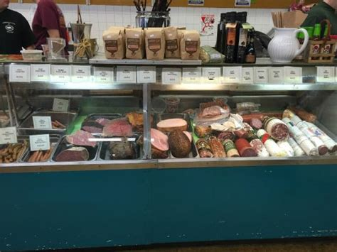 Otto S Sausage Kitchen by Display Of Cured Meats Picture Of Otto S Sausage Kitchen