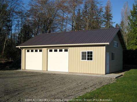 24x36 garage plans garages and shops built by alvord richardson texmo pole