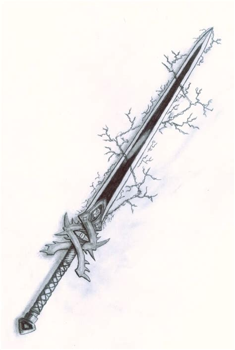the black oak sword a kingdom of oak novel books anime katana photo sword by cokolwiek jpg weapons and