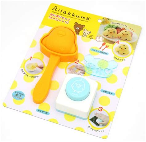 Rilakkuma Rice Set 30 rilakkuma kiiroitori bento rice decoration set san x japan bento accessories bento