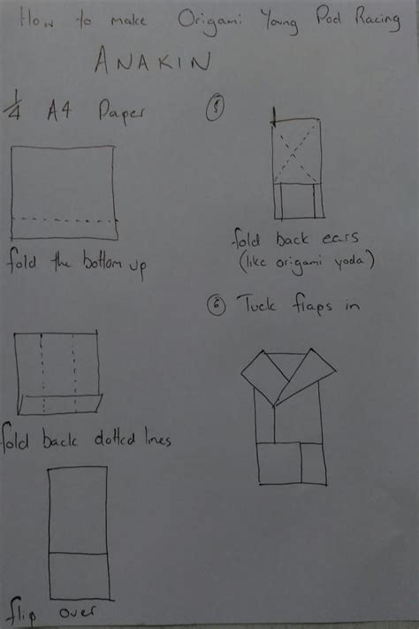 How To Make Origami Anakin Skywalker - anakin search results origami yoda page 2