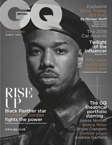 Which Bilson For Gq Magazine Look Do You Like Best by Michael B Gq 2018 Cover Photo Shoot