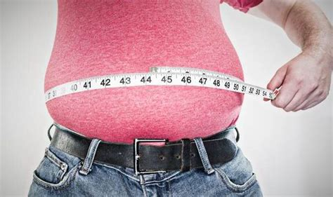 weight gain in the middle section middle aged spread women gain weight at 38 and men at 44