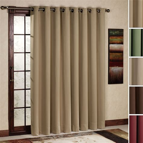 Curtain Panels For Patio Doors Sliding Door Curtains