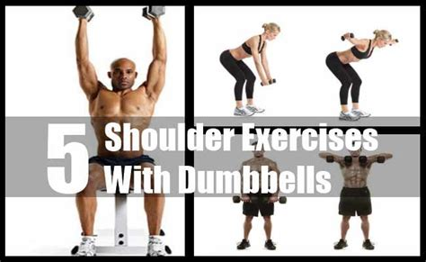 shoulder workouts dumbbells myideasbedroom