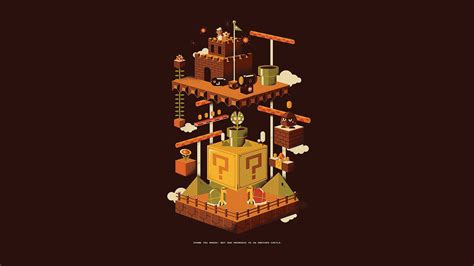 Game Wallpaper Simple | classics fan art fez mario nintendo retro games simpl