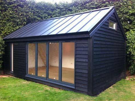 pin  gardenoffice  garden studios  black cladding
