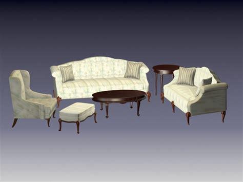 free 3d living room sets sectional living room sets 3d model files free download