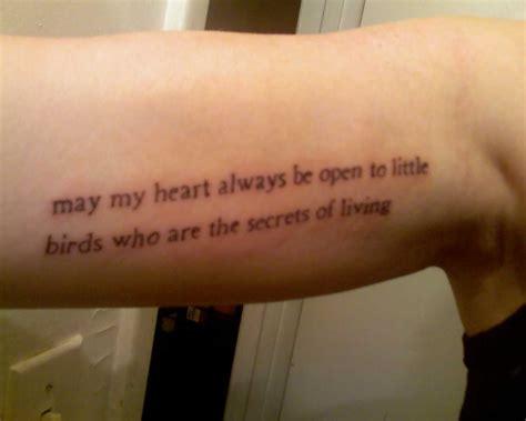 poem tattoos for men ee poem tattoos tattoomagz