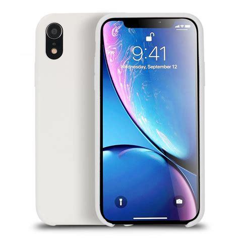 wholesale iphone xr  pro silicone hard case white
