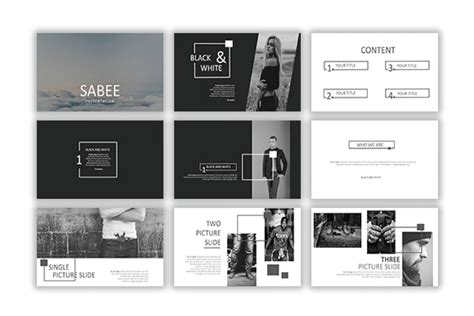 Sabee Powerpoint Template Free Download Just Free Slides Presentation Templates For Powerpoint Free