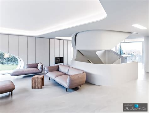Luxury Homes Interior Modern Architecture At The Futuristic Ols House In