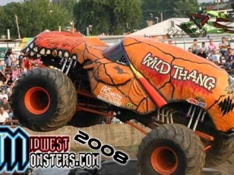 monster truck music wild thang theme song monster truck show theme youtube