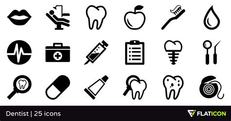 Open Home Plans dentist 25 free icons svg eps psd png files