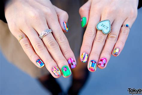 japanese nail pattern japanese nail art design how you can do it at home