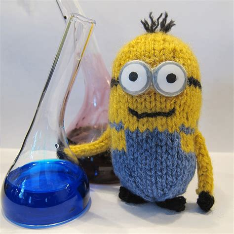 Knitting Pattern Minion Despicable Me | just crafty enough free pattern minion